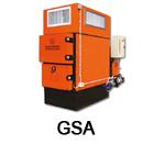 GSA Warm air generator